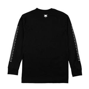 VANOSS® | KATAKANA LONG-SLEEVE TEE (BLACK)