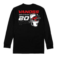 VANOSS® | CYBER TOILET LONG-SLEEVE TEE (BLACK)