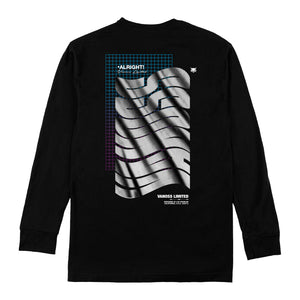 VANOSS® | NEON TECH LONG-SLEEVE TEE (BLACK)