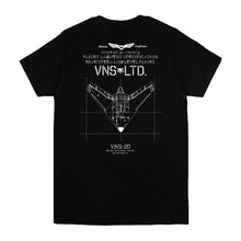 VANOSS® | FLIGHT TEE (BLACK)