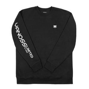 VANOSS® | SONAR CREWNECK SWEATER (BLACK)