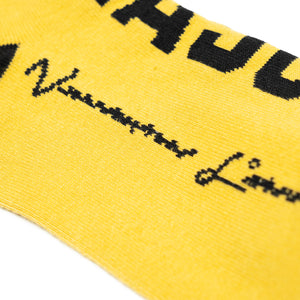VANOSS® | OFFSEASON SOCKS (YELLOW / BLACK)