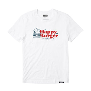 VANOSS® | HAPPY BURGER TEE (WHITE)
