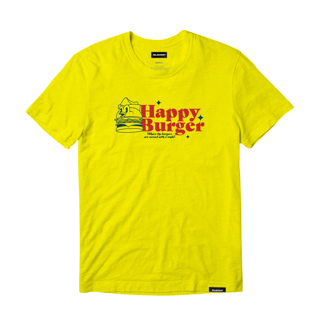 VANOSS® | HAPPY BURGER TEE (YELLOW)
