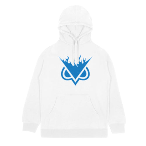 VANOSS® | FLAME HOODIE (WHITE) LIMITED EDITION