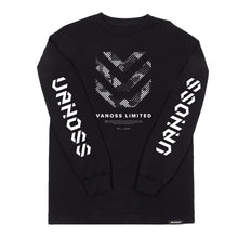 VANOSS® | INSIGNIA LONG-SLEEVE TEE (BLACK)