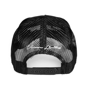 VANOSS® | MOM MADE CHICKEN TRUCKER HAT (BLACK) LIMITED EDITION