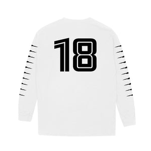 VANOSS® Off-Season Long Sleeve Tee (White) LIMITED EDITION