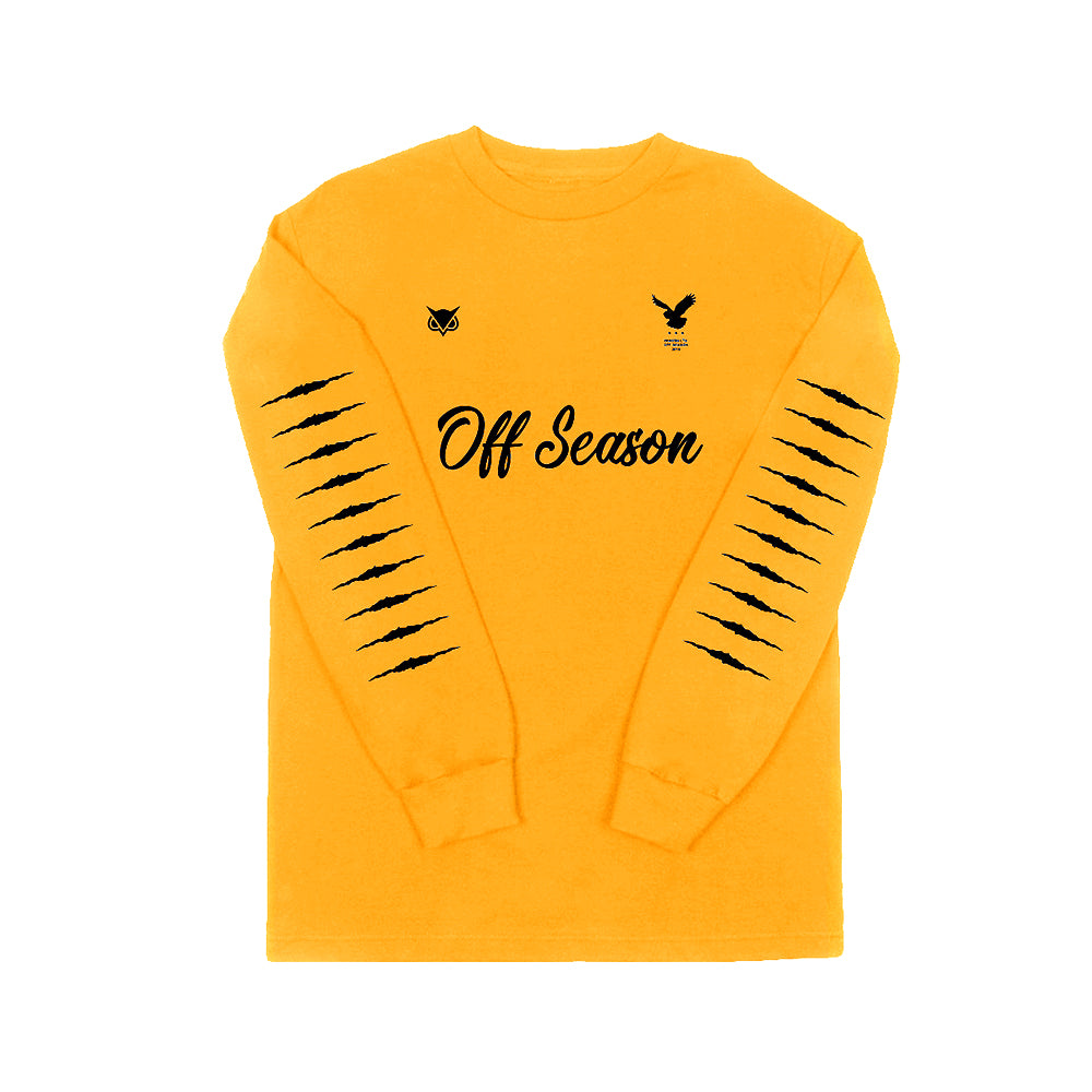 VANOSS® Off-Season Long Sleeve Tee (Gold) LIMITED EDITION