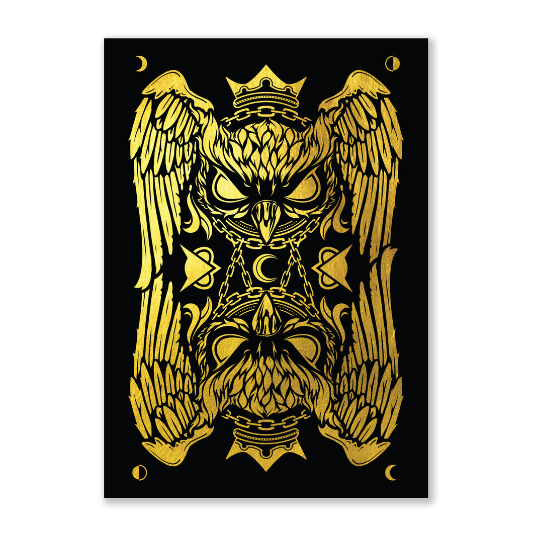 VANOSS® | GOLD HOODINI POSTER (LIMITED EDITION)