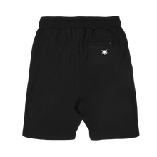 VANOSS® | GYM SWEAT SHORTS (BLACK)