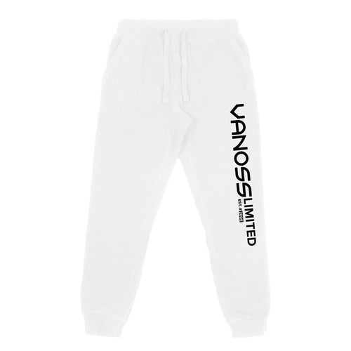 VANOSS® | SONAR SWEATPANTS (WHITE)