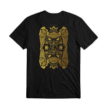 VANOSS® | GOLD HOODINI TEE (BLACK) LIMITED EDITION