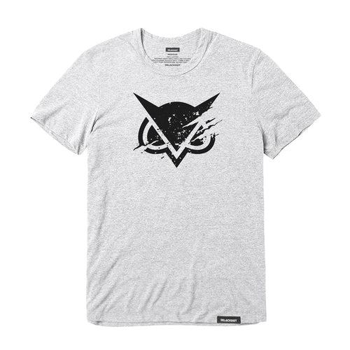 VANOSS® | RIPPED LOGO TEE (HEATHER GRAY)