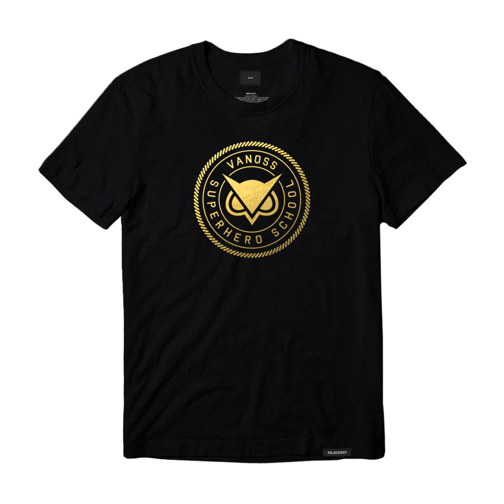 VANOSS SUPERHERO SCHOOL Limited Edition Gold T-Shirt