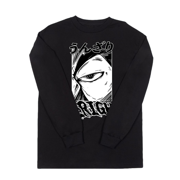 VANOSS® | UNZARI LONG SLEEVE TEE (BLACK) LIMITED EDITION