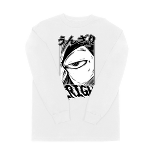 VANOSS® | UNZARI LONG SLEEVE TEE (WHITE) LIMITED EDITION