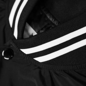 VANOSS® | VARSITY JACKET (BLACK) LIMITED EDITION