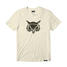 VANOSS® | WOOD LOGO TEE (NATURAL)