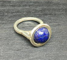 Load image into Gallery viewer, Lapis Lazuli Sterling Silver Ring