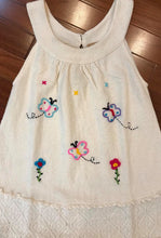 Load image into Gallery viewer, Hand Embroidered Organic Cotton Dress