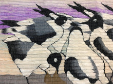 Load image into Gallery viewer, Peruvian Penguin Wool Tapestry