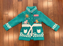 Load image into Gallery viewer, Child's Arpillera Handmade Peruvian Cardigan