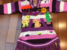 Load image into Gallery viewer, Child Arpillera Handmade Peruvian Dress