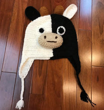 Load image into Gallery viewer, Child's Handmade Animal Hat