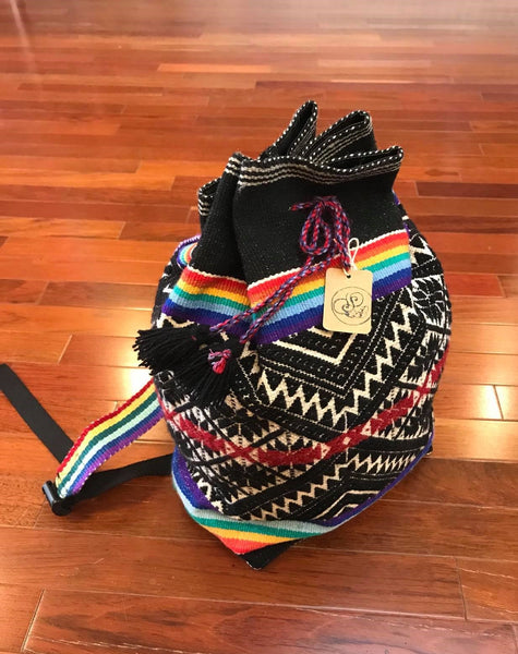 Handmade Wool Backpack