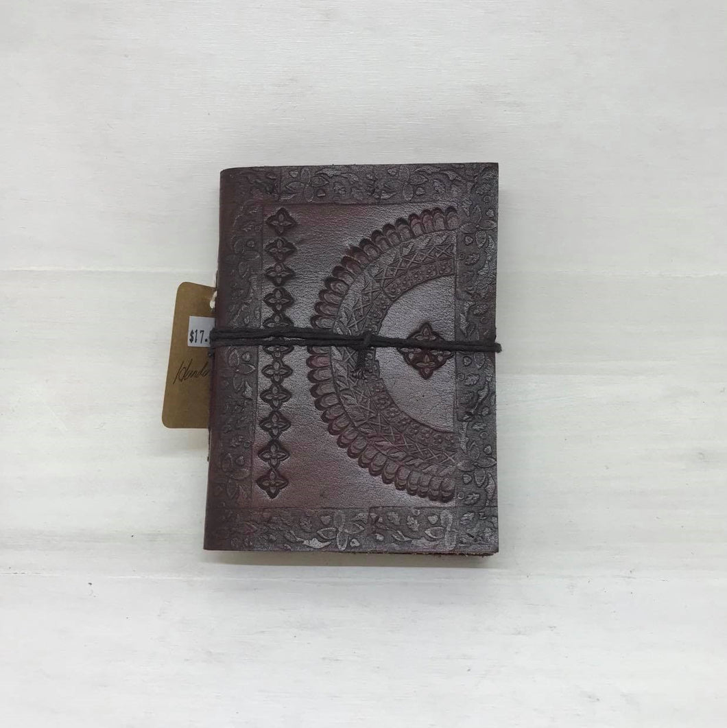 Handmade Leather Bound Journal