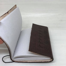 Load image into Gallery viewer, Handmade Leather Bound Journal