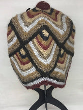 Load image into Gallery viewer, Peruvian Crochet Alpaca Blend Beanie