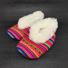 Load image into Gallery viewer, Baby Alpaca Fur Suede Slippers