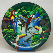 Load image into Gallery viewer, Hand Painted Amazonian Terracotta Plate