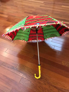 Handcrafted Traditional Mirrored Umbrella
