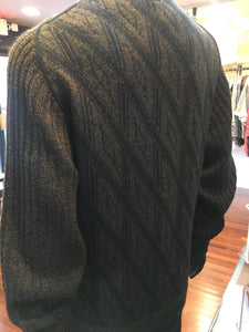 Alpaca Blend Men's Zip Sweater