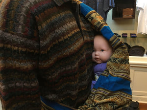 Unique Baby Sling Ethnic Baby Carrier