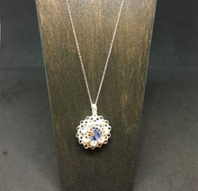 Load image into Gallery viewer, Sodalite Necklace and Earring Set