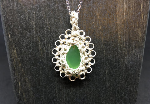 Aventurine Necklace and Earring Set