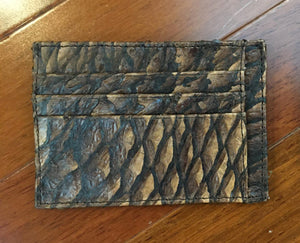 Genuine Arapaima Fish Leather Wallet