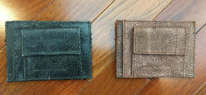 Genuine Arapaima and Mahi Mahi Fish Leather Wallet