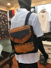Load image into Gallery viewer, Genuine Arapaima Fish Leather Backpack