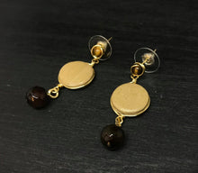 Load image into Gallery viewer, Tiger Eye Earrings