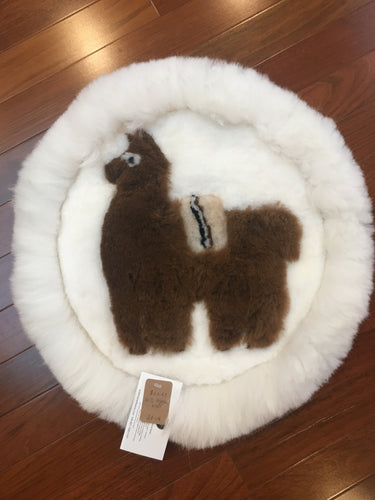 Alpaca Wool Wall Hanging