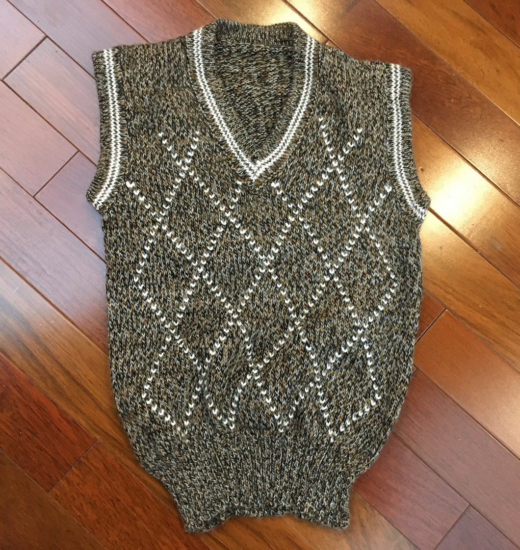 Child's Alpaca Blend V-Neck Sweater