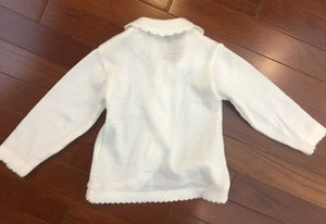 Hand Knitted Girls Cardigan