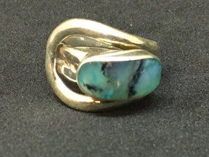 Semi-Precious Stone Sterling Silver Ring