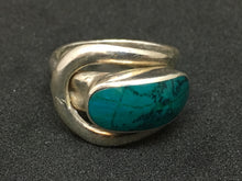 Load image into Gallery viewer, Semi-Precious Stone Sterling Silver Ring