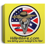 hillbillilife Canvas 1.5in Frame